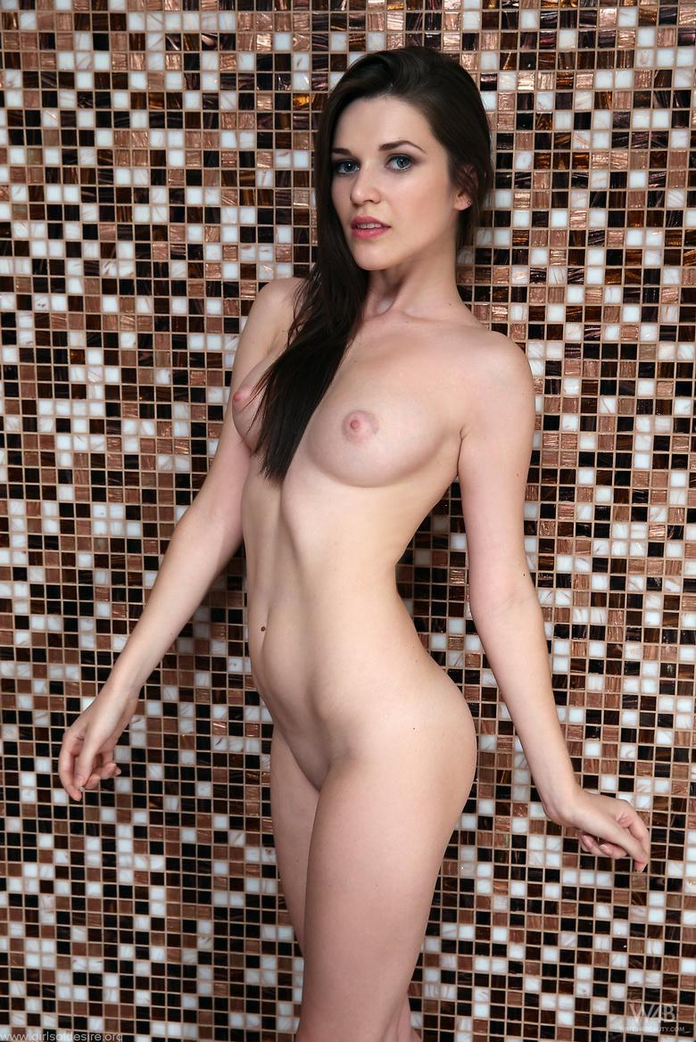 Serena takes an erotic shower in 18 photos from Watch 4 Beauty photo 6