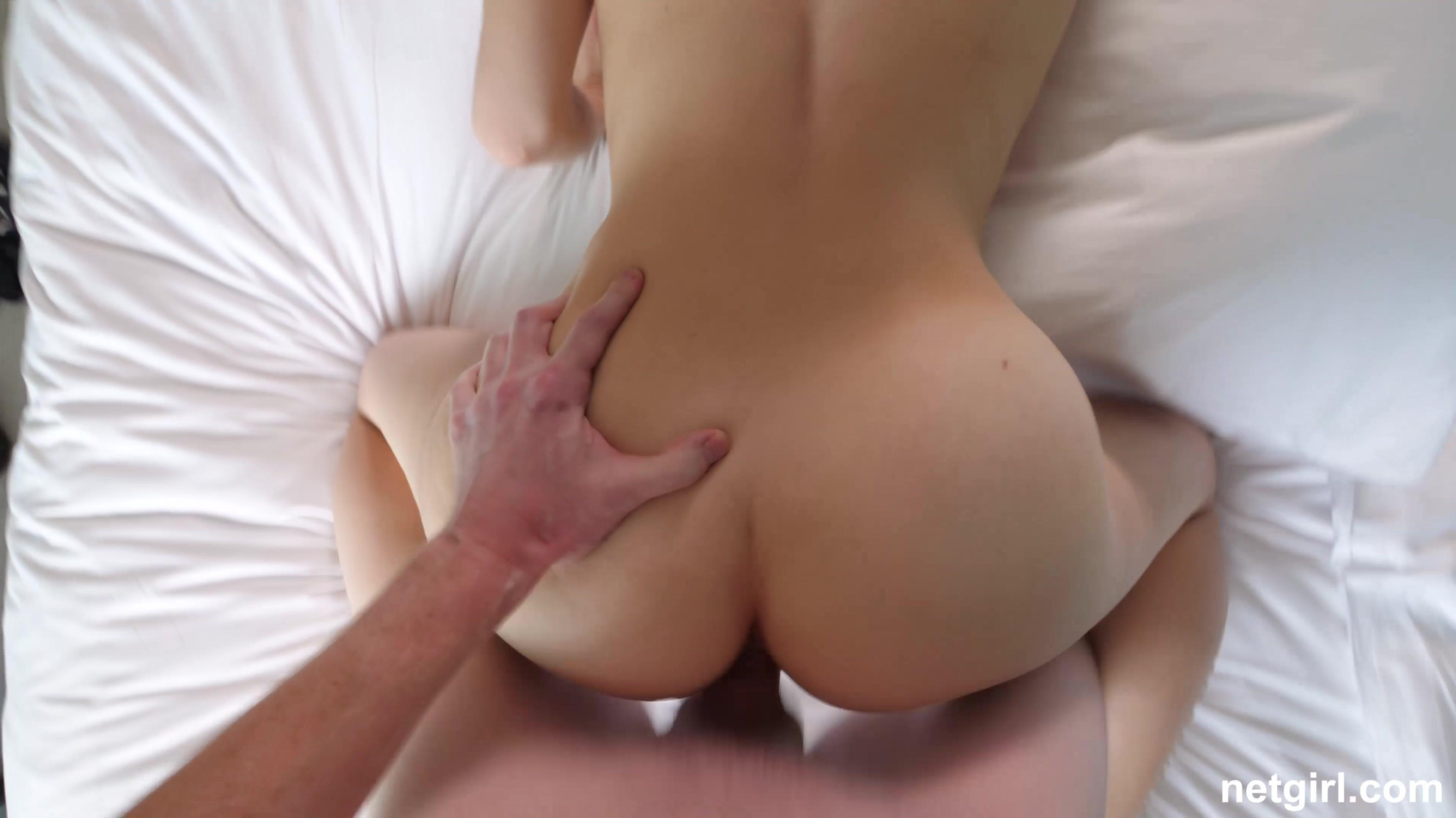 Anika gives porn a try   Coed Cherry photo 5