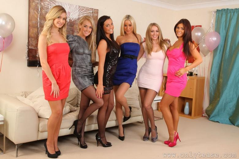 Sexy partygirls in 18 photos from Only Tease photo 4