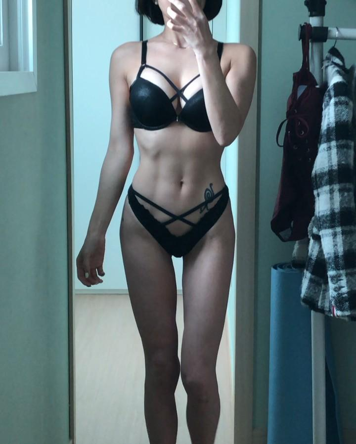 pretty korean gymshark with some hot leaked lingerie shootings picture 6