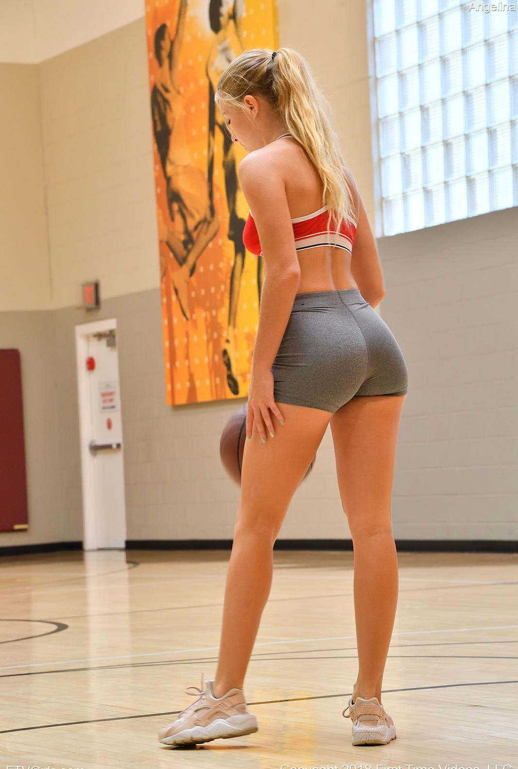 Angelina-II in Hottie At The Gym photo 3