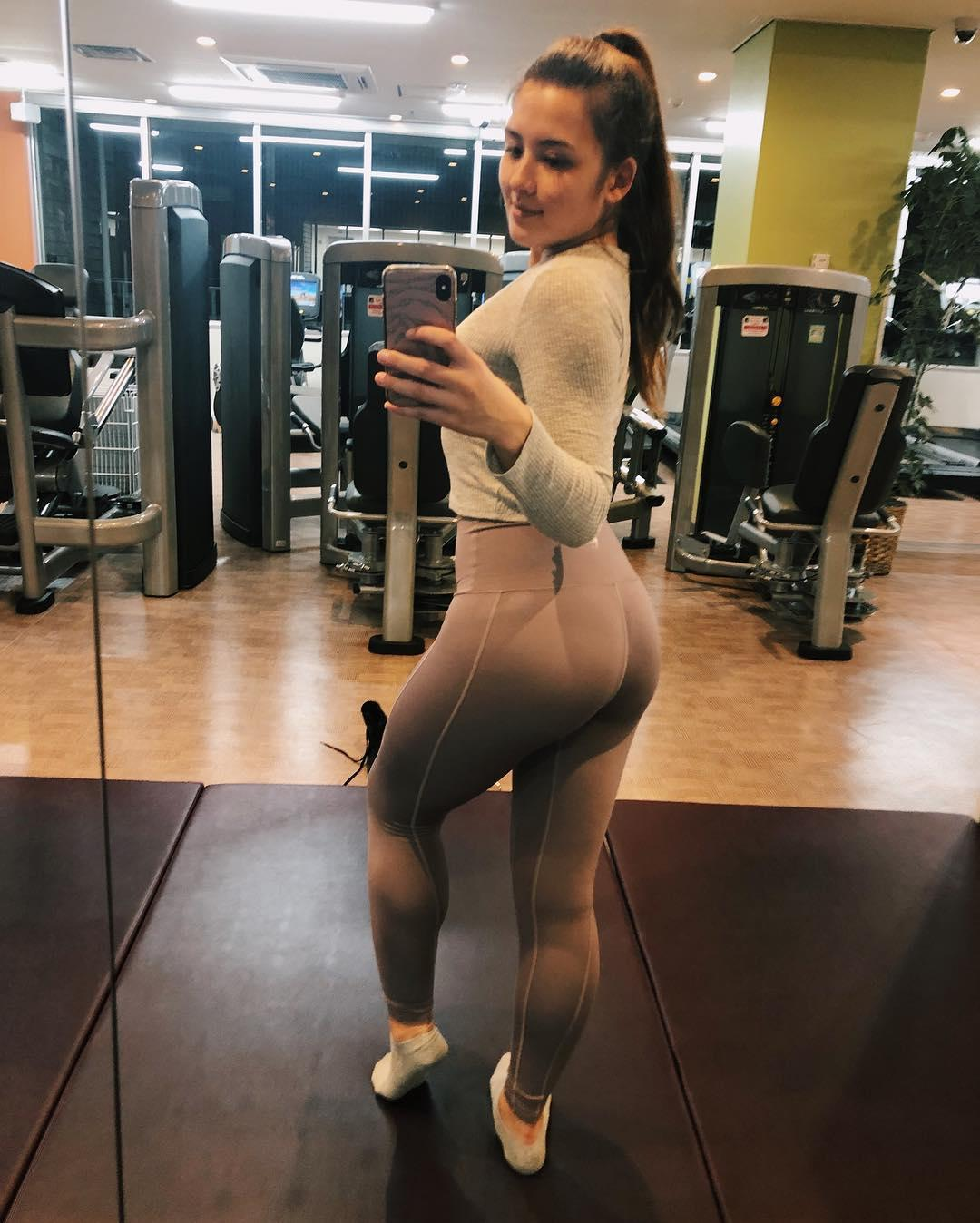 hot japanese gymshark kyto-su in sexy tight fitting gymwear picture 13