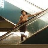 full-body dress that shows a clear vaulting at the cameltoe picture 7