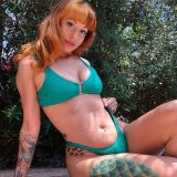 two redheads making stunning selfies of their butts picture 12