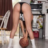 I would rather do something other than play basketball with this pretty neighbor girl picture 9