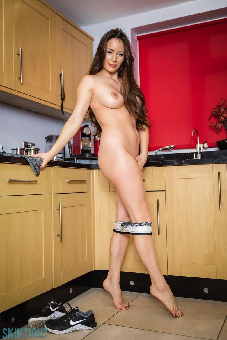 Kitchen Cutie Laura Hollyman in 15 photos from Skin Tight Glamour photo 14