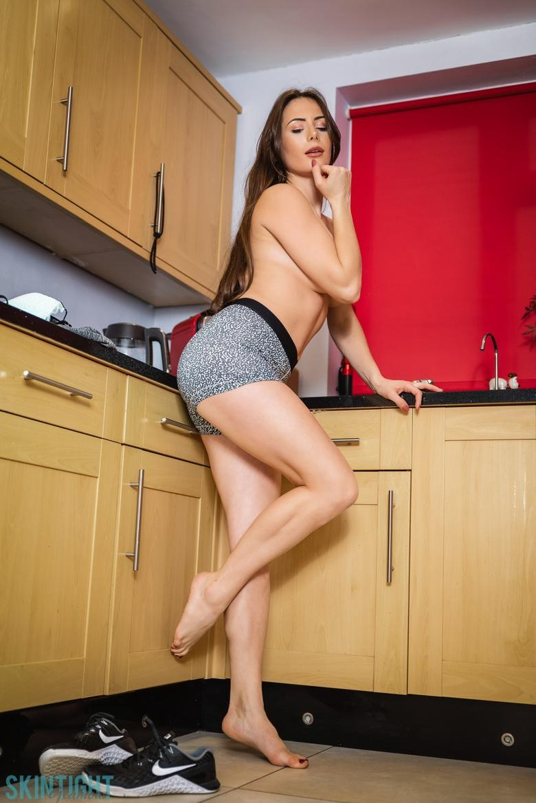 Kitchen Cutie Laura Hollyman in 15 photos from Skin Tight Glamour photo 9