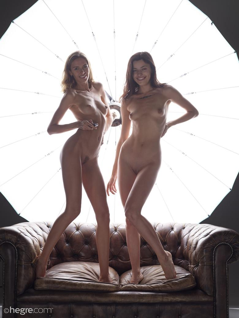 Alya and Oksi In Nude Self Portraits in 15 photos from Hegre-Art photo 13