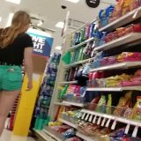 cameltoe selfies of fantastic teen girl in grocery store picture 7