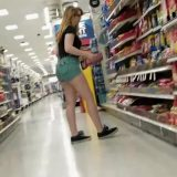 cameltoe selfies of fantastic teen girl in grocery store picture 6