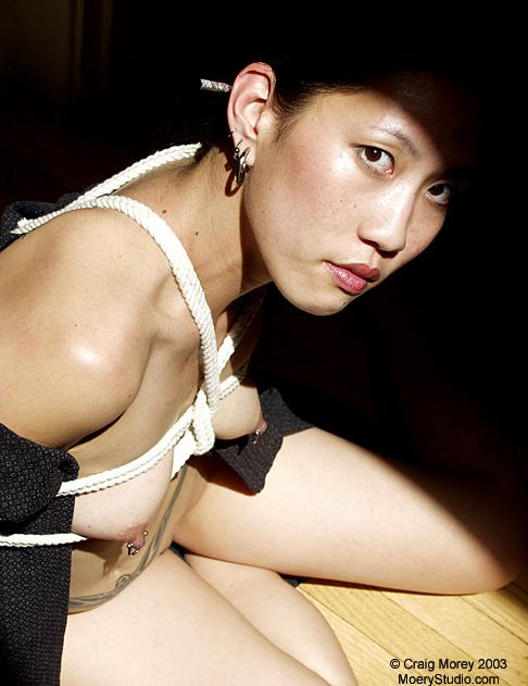 japanese muse bonnie doing bondage selfies for her followers picture 2