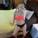 hot bored single mom doing awesome yoga selfies of her delicious body picture 10