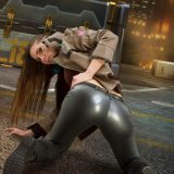 hot gamer cutie with some selfies from the cosplay convention picture 6